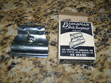 Berghman Skate Sharpener Vintage Advertising Maywood Illinois