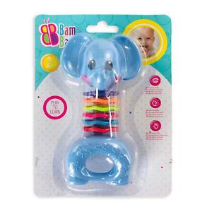 Giocattolo creativo per bambini neonato BamBam elefantino sonaglio 2876