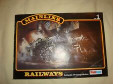 Mainline Railways OO System Catalogue No1 by Palitoy 1976