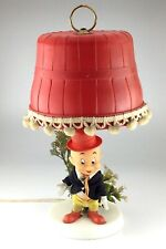 Vintage 1970 Elmer Fudd Red Lamp Figure R Dakin Warner Bros M563