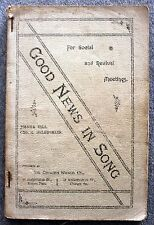 GOOD NEWS IN SONG Revival CHURCH Hymns HYMNAL Gill MCLAUGHLIN Christian SONGS