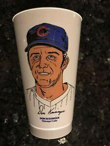Vintage 1973 Don Kessinger 7-Eleven Slurpee Cup Chicago Cubs