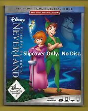 Disney Peter Pan Return to Never Land SLIPCOVER ONLY fits blu-ray case (No Disc)