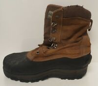Ranger Mens Size 7 Hunting Boots Thermolite Brown Snowmobile Hiking Distressed