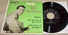 "Me by Bill Anderson (Vinyl 7"", EP) NM"