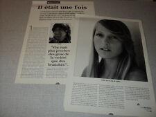 H181 JOELLE IL ETAIT UNE FOIS SERGE KOOLEN '1992 FRENCH CLIPPING