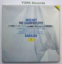 DG 2741 001 - MOZART - Die Zauberflote KARAJAN / MATHIS - Ex 3 LP Record Box Set