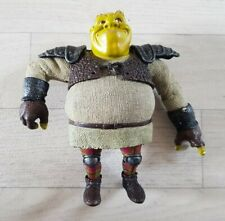 SHREK FIGURE - DREAMWORKS 2006 ogre SHREK THE BRAVE rare ACTION FIGURE posable