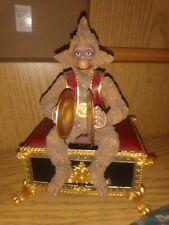 San Francisco Music Box Co. Phantom of The Opera Monkey Figurine Music Box 1986