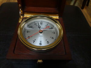 Great Chelsea Boardroom Quartz Clock  Boston model 4 1/2 ""