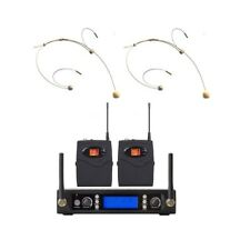 Wireless Microphone headset 200 Channels uhf Wireless Microphone profesional