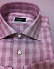 Ermenegildo Zegna beautiful shirt 15.5/39,M/50/40 fit NWT$435 (Today's Big Sale