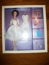 Elizabeth Taylor White Diamond Barbie SilkStone Gold Label