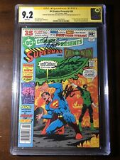 DC Comics Presents #26 (1980)-1st Teen Titans! - CGC 9.2! Signed 3x - Newsstand!