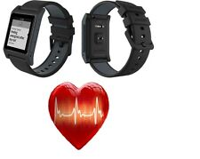 Pebble 2 + Heart Rate Bluetooth Smartwatch for Android or iOS (Black)