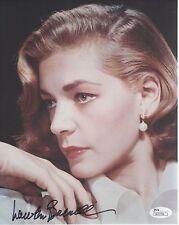 Lauren Bacall Hand Signed 8x10 Photo Stunning Hollywood Legend Jsa