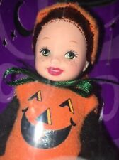 Kelly Barbie 2001 Chelsie is a Pumpkin Halloween Party Target Special Edition