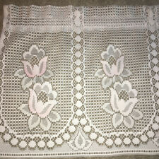 Window Valance Curtain Lace 60x18