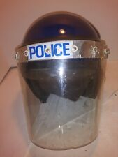Collectible Vintage Protective Police Force/Riot/Public Order Helmet w/Shield