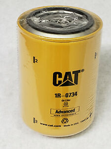 New Genuine Caterpillar Equipment Forklift Oil Filter 1R-0734, Fork Lift Truck
