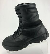 5.11 HRT Tactical Boots Black Leather Urban Military Combat Ankle Shoes Mens 7