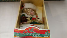 2004 Christina Verdi Collection Christmas Holiday Porcelain Doll