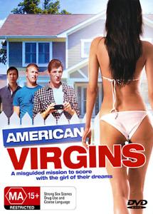 AMERICAN VIRGINS - TEEN SEX COMEDY DVD (NEW & SEALED)