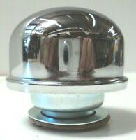 Chrome Round Twist In Oil Valve Cover Breather SBC BBC SBF 302 327 350 302 454
