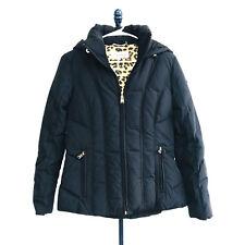 Calvin Klein Dark Blue Hooded Down Winter Jacket Womens Size XS