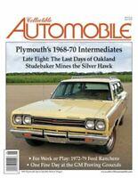 Collectible Automobile Magazine June 2020: Plymouth's 1968-70 Intermediates