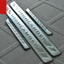 Stainless steel bumper protection 4 DOOR TRIM FOR Toyota Highlander 2008-2013