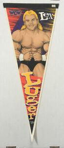 Vintage Lex Luger Wrestler Wincraft WCW NWO Felt Pennant 1996
