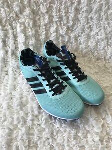 New Women's Adidas BB5758 Distancestar Running Spikes Track And Field Shoes Sz 9