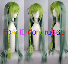 Anime Amnesia-UKYO Long Cosplay Anime Braid Cosplay Wigs Long Green Wig