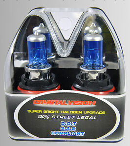 9004 HB1 Headlight 100W Xenon HID Halogen Super White Replacement Light Bulb A60