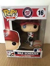 Max Scherzer Washington Nationals Funko MLB Pop Vinyl NIB