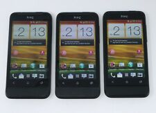 """Lot of 3 Working HTC One V PK76300 4GB 3.7"""" Smartphones for Virgin Mobile"""