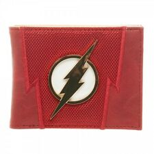 DC Comics Flash Suit Up Comic Book Barry Allen Mens Bifold Wallet MW3YYKDCO