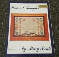 Mary Beale Personal Sampler Counted Cross Stitch Chart
