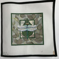 Dragonfly Pillow Melissa Shirley 621D Needlepoint Canvas Hand Painted