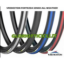 Tires 700x23 Fortezza senso All Weather 225gr Anthracite/blue Vredestein Race TY