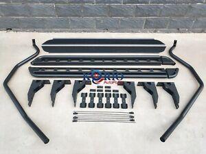 Brand New Heavy Duty Universal Dual Cab Ute Side Steps & Brush Rail Bars