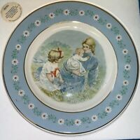 Vtg. AVON 1975 Collectors Gentle Moments Plate Enoch Wedgewood