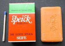 alte Speick Seife 20 g  Walter Rau Gästeseife