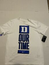 Duke Blue Devils Nike 2020 March Madness Our Time White Tee  Shirt Size: 2XL