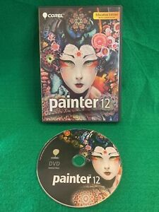 Corel Painter 12 for Education Edition (PC, 2011) Excellent Pre-Owned Condition
