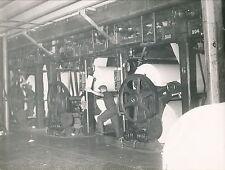 PARIS c. 1950 - Imprimerie Réaumur Rotative Matériel Industriel  - Div 4841