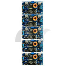 5Pcs 5A 75W DC-DC Adjustable step-down Power module with LED voltmeter