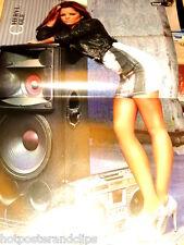 Ein Poster Cheryl Cole wow long legs Rückseite Ashley Tisdale für Deine Sammlung
