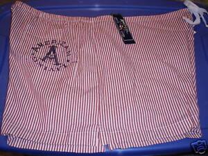 AMERICAN LIVING Juniors XXL Red Stripe Cotton Sleepwear Pajama Shorts NWT